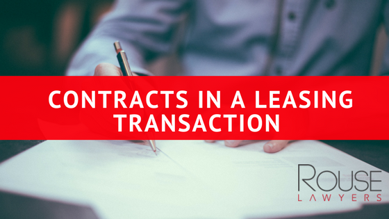 Contracts In A Leasing Transaction