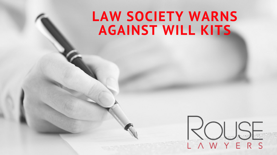 Law society warns against will kits rouse lawyers the queensland law society has issued a warning against do it yourself will kits solutioingenieria Choice Image